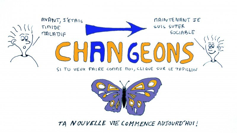 changeons - deviens super sociable