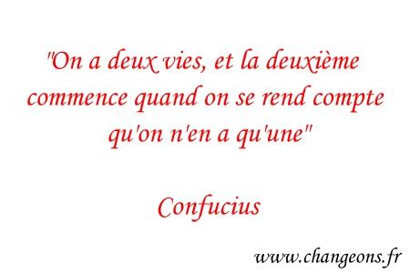 Confucius : 5 citations pour changer votre vie   Changeons