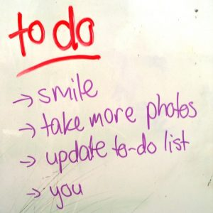 to do list procrastination