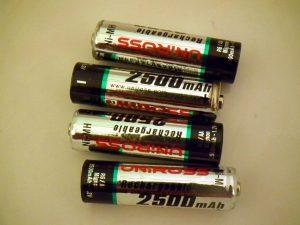 batteries changeons