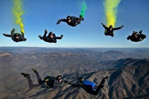 parachutisme chute libre - changeons