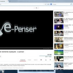 youtube e-penser changeons