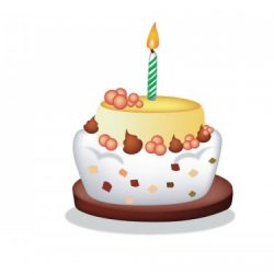 changeons un an gateau anniversaire