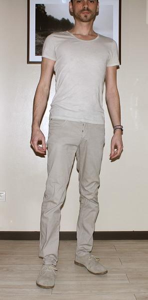 Une tenue sans contraste : effet pyjama (alors que les pièces individuellement sont correctes, elles ne fonctionnent pas du tout ensemble)
