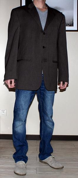 Veste beaucoup trop grande, manches trop longues, épaules tombantes, coupe du jean trop large : zéro charisme avec ce genre de tenues !