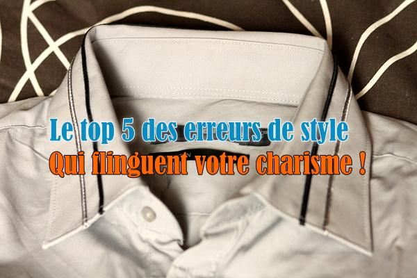 top 5 erreurs de style - changeons
