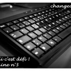 le lundi c'est défi semaine 3 : le clavier bépo