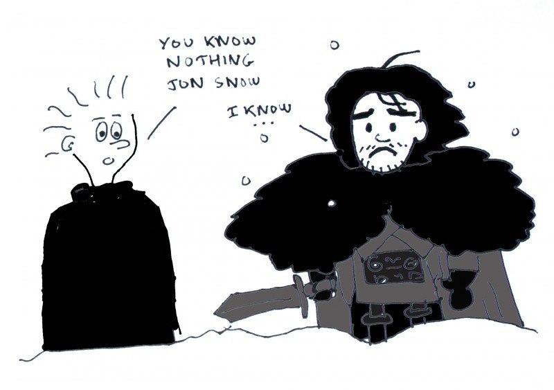 tu ne sais rien jon snow - changeons