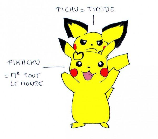 la timidité expliquée par les pokemon - changeons