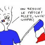 Rejouer la finale de l'euro France-Portugal