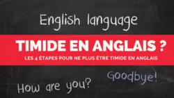timide en anglais