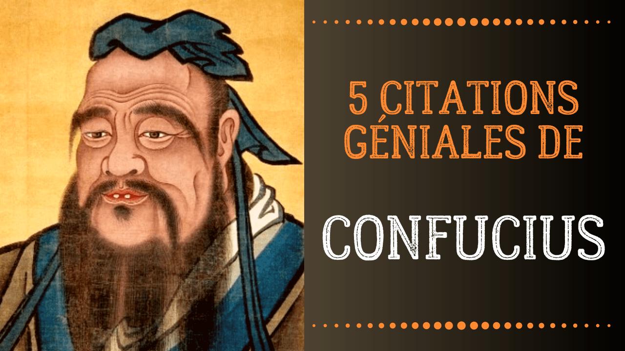 citations de confucius