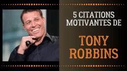 Tony Robbins coach citations inspirantes