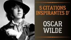 meilleure citation oscar wilde