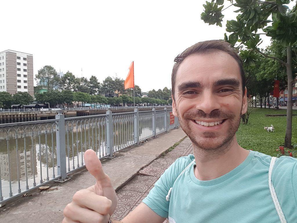 Hervé Lero banc Saigon