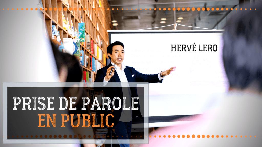 prise de parole en public Hervé Lero