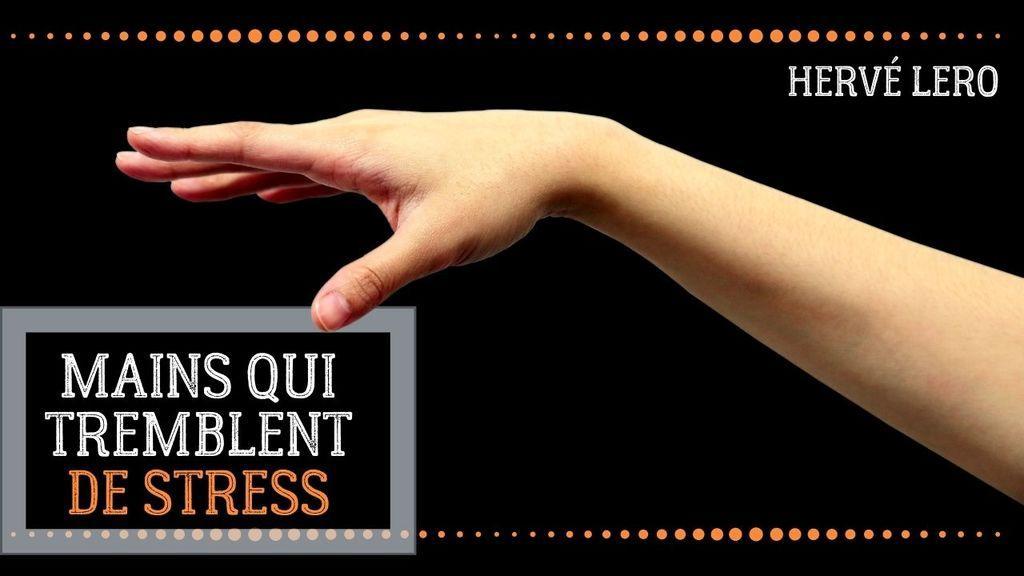 mains qui transpirent Hervé Lero